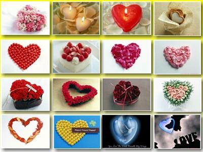 Обои: сердечки; День Святого Валентина; романтические; любовь № 1.