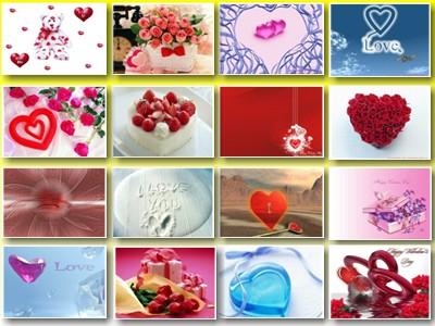 Обои: сердечки; День Святого Валентина; романтические; любовь № 2.