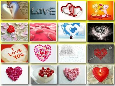 Скриншот № 1 обоев на тему: Любовь, Любимым, День Св. Валентина, Валентинки.