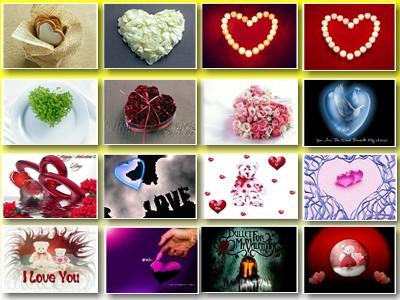 Скриншот № 2 обоев на тему: Любовь, Любимым, День Св. Валентина, Валентинки.