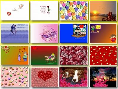 Скриншот № 1 обоев на тему: букет в виде сердца; свечи; романтические цветочки влюблённыи; День Св. Валентина; романткам; для любимых.