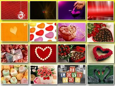 Скриншот № 2 обоев на тему: Любовь, Любимым, День Св. Валентина.