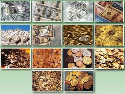 Обои пачки долларов и обои баксы