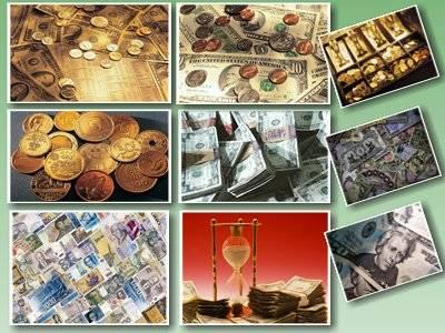 Обои монеты и обои банкноты